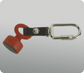 1209 SEGUFIX-Magnetic Key red with key ring