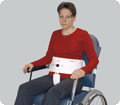 7250  / Chair Belt with Crotch Strap